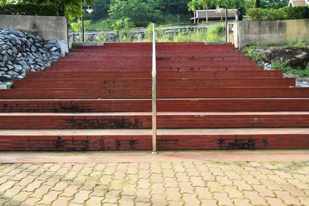stair: Brick stair
