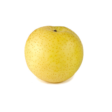 asian pear: Asian pear isolated on white background Stock Photo