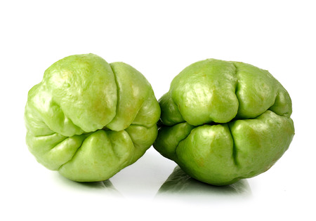 chayote: Chayote isolated on white background