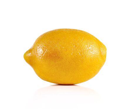 lemon wedge: lime close up isolated on white background