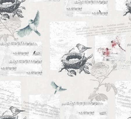 birdnest: birds Stock Photo