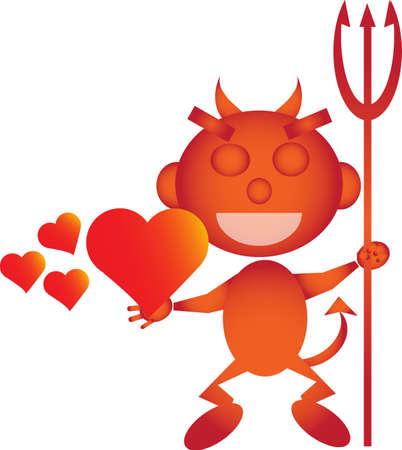 demonic: Love devil brings you hot hearts