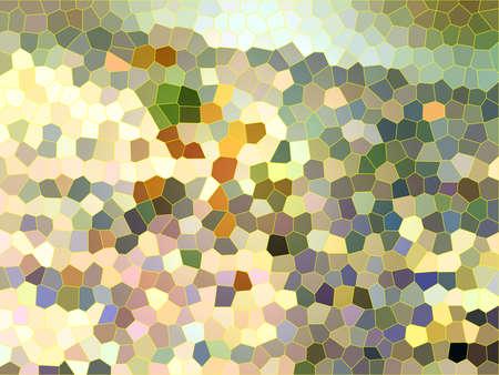 庭色モザイクの背景テクスチャ 写真素材