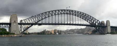 オーストラリアのシドニー港橋