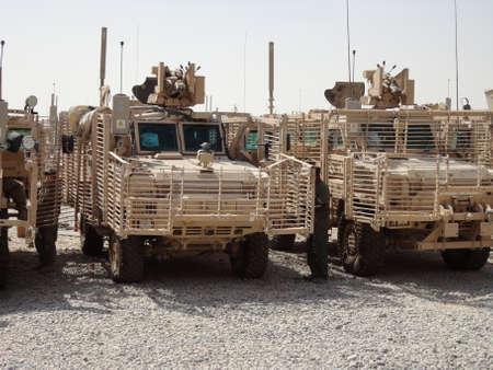 アフガニスタンの軍用車両