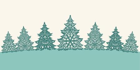 fiambres: Libro Verde Árboles de navidad decoración