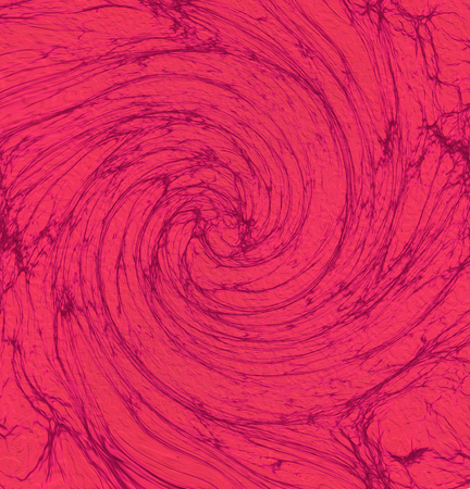 Mystical abstract red whirlpool background Imagens