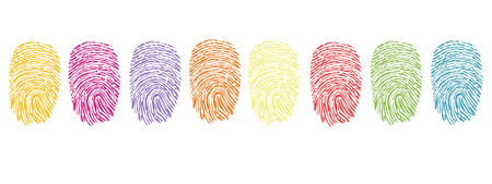 fingerprint, abstract, finger, hand, human, illustration, isolated, macro, print, privacy, silhouette, thumbprint, wallpaper, pattern, symbol Ilustracja
