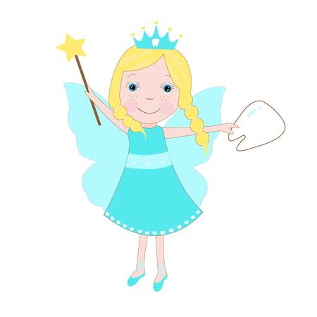 Cute Tooth Fairy