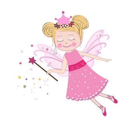 adolescent: vector illustration Fairy tale