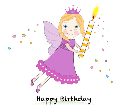 winger: Birthday fairy Illustration