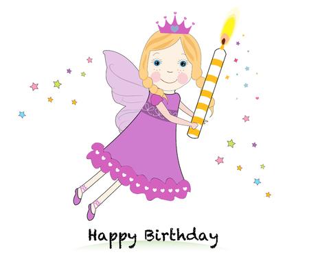 Birthday fairy Illustration