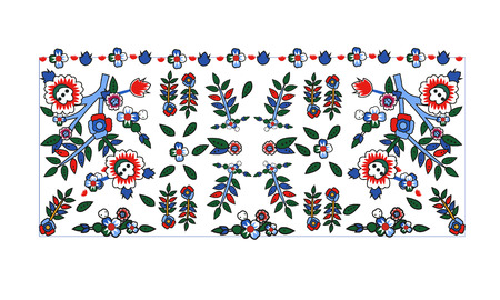 Decorative frame pattern Stock Illustratie