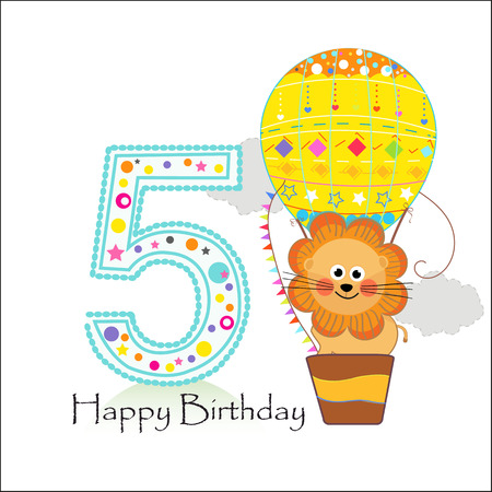 Sign In Happy birthday greeting card