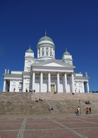Cathedral in Helsinki, capital of Finland