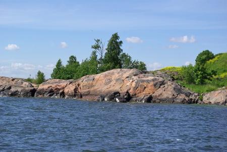 Suomenlinna - island in Baltic sea near Helsinki, Finland photo