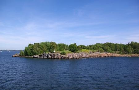 Suomenlinna - island in Baltic sea near Helsinki. Finland photo