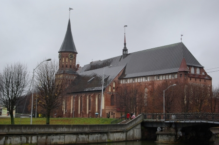 immanuel: Cathedral of Immanuel Kant in Kaliningrad. Russia