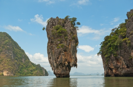 james: James Bond island in province Phang Nga, Thailand