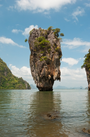 James Bond island in province Phang Nga, Thailand