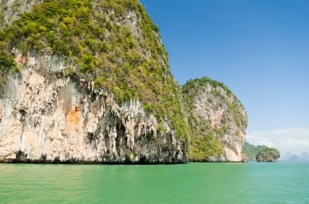 southeastern: View on the tropical island in Andaman sea near Phuket, Thailand