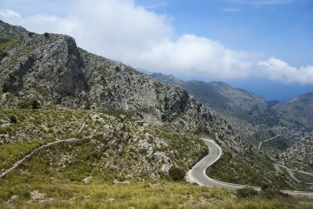 Serra de Tramuntana - mountains in Mallorca, Spain photo