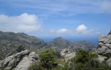 sa: Serra de Tramuntana - mountains in Mallorca, Spain
