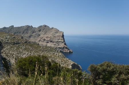 Cap de Formentor - northern end of Mallorca, Spain Stock Photo - 20941826