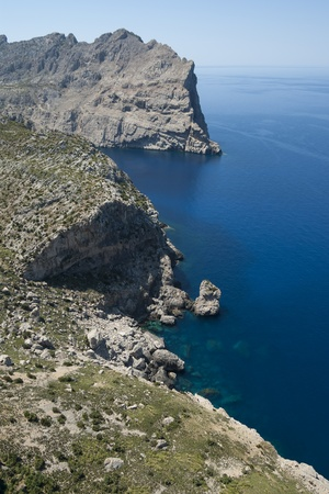 Cap de Formentor - northern end of Mallorca, Spain Stock Photo - 21040552
