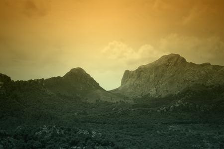 Serra de Tramuntana - mountains on Mallorca, Spain Stock Photo - 22952843