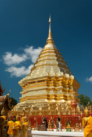 Wat Phra That Doi Suthep in Chiang Mai, Thailand photo
