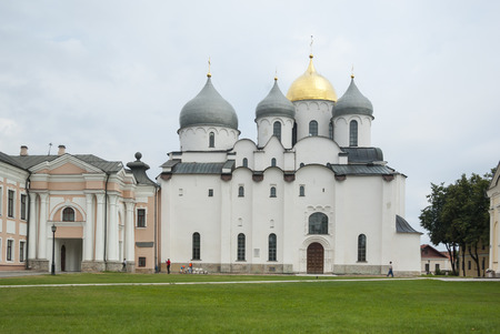 Saint Sophia Cathedral at Novgorod Kremlin, Russia photo