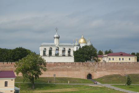 Panoramic view on Novgorod Kremlin. Novgorod The Great. Russia photo