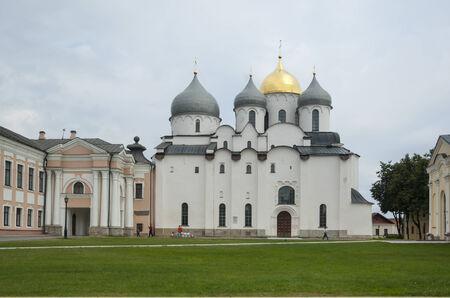 novgorod: Saint Sophia Cathedral at Novgorod Kremlin, Russia