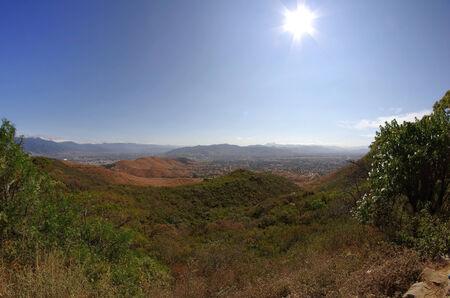 oaxaca: View from Monte Alban, Oaxaca, Mexico