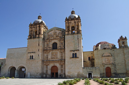 Santo Domingo Church in the city Oaxaca, Mexico 免版税图像 - 27322229