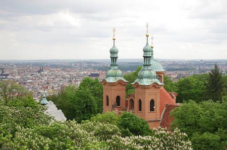 laurence: Church of Saint Laurence on Petrin hill, Prague, Czech Republic