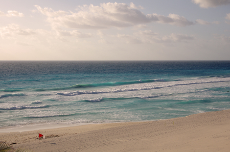 cancun: The coast of Caribbean sea, Cancun, Mexico