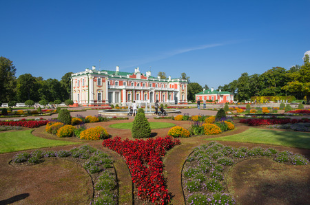 tsar: Kadriorg Palace was built by Tsar Peter the Great in the 18th Century, Tallinn, Estonia