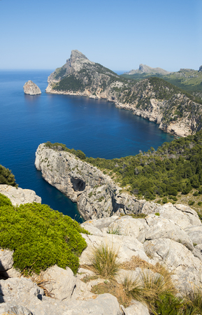 northern spain: Cap de Formentor - northern end of Mallorca, Spain