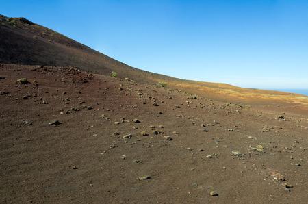 timanfaya: National Park Timanfaya on the island of Lanzarote, Canary Islands, Spain Stock Photo