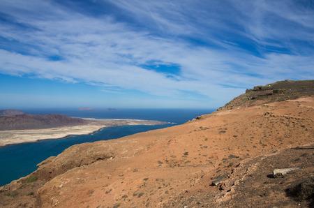mirador: Graciosa Island and Mirador del Rio, Lanzarote Island, Canary Islands, Spain