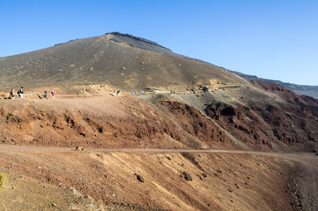 golfo: El Golfo on Lanzarote, Canary islands, Spain