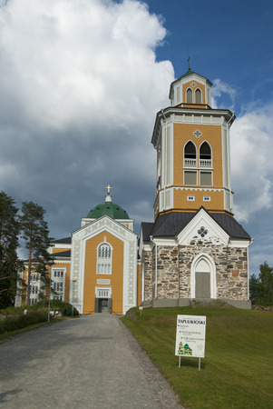 biggest: Kerimaki church - the biggest wooden church in northern Europe
