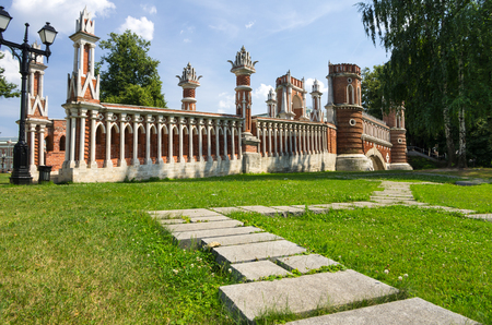 tsaritsino: Architectural and park ensemble of Tsaritsino is a historical and cultural monument of the 18th-19th centuries, Moscow, Russia