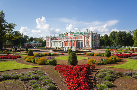 peter the great: Kadriorg Palace was built by Tsar Peter the Great in the 18th Century, Tallinn, Estonia