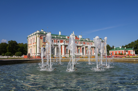 tsar: Kadriorg Palace was built by Tsar Peter the Great in the 18th Century, Tallinn, Estonia