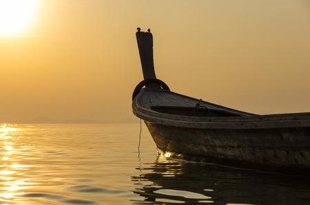 southeastern: Andaman sea on sunset, Krabi province, Thailand