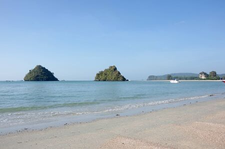 southeastern: The coast of Andaman sea, Krabi province, Thailand
