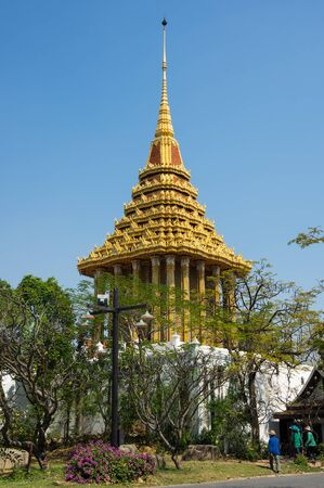 samut prakan: Buddhist temple in Samut Prakan province, Thailand